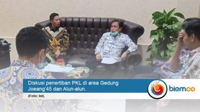 Photo of Siap-siap, PKL di Area Gedung Joeang'45 dan Alun-alun akan Ditertibkan