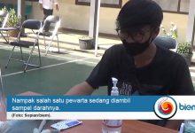 Photo of Ikut Rapid Test, Puluhan Jurnalis di Pandeglang Non Reaktif
