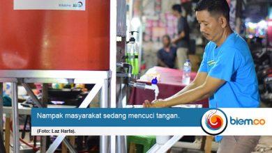 Bantu Masyarakat Terapkan Hidup Sehat, LAZ Harfa Fasilitasi 30 Wastafel Portable