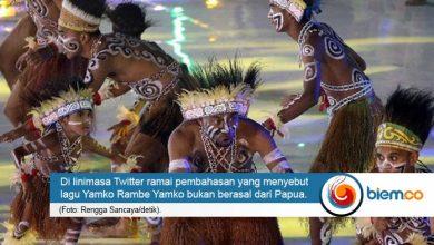 Photo of Menuai Polemik, Lagu Yamko Rambe Yamko Bukan Berasal dari Papua?