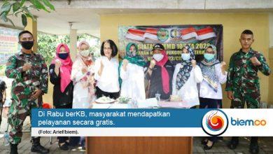 Photo of Hadir Sebagai Rangkaian TMMD ke-108, DP3AKB Cilegon Sosialisasikan 'Rabu berKB'