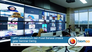 Photo of Labpus Bahasa Unsera, Gelar Seminar Daring