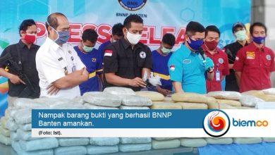 Photo of 'Good Job', BNN Provinsi Banten Gagalkan Penyelundupan 298 Kilogram Ganja