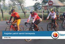 Photo of Kapolres Cilegon dan Dandim Kompak Bersepeda Sambil Pantau Kamtibmas