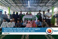 Photo of Di Tengah Pandemi, Komunitas ASN Banten 2011 Santuni Anak Yatim