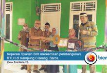Photo of Koperasi Syariah BMI Kembali Bangun RTLH di Kabupaten Serang