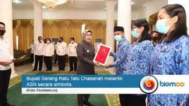 Photo of Ratusan ASN Kabupaten Serang Dilantik Virtual