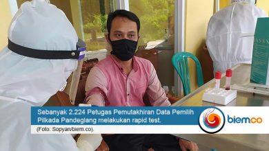 Photo of 2.224 PPDP untuk Pilkada Pandeglang Lakukan Rapid Test