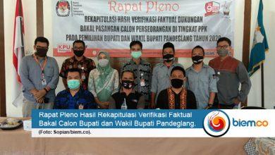 Photo of Pleno Tingkat Kecamatan di Pandeglang Dipastikan Selesai Hari Ini