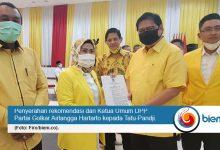 Photo of Pilkada Kabupaten Serang, Partai Golkar Rekomendasikan Tatu-Pandji