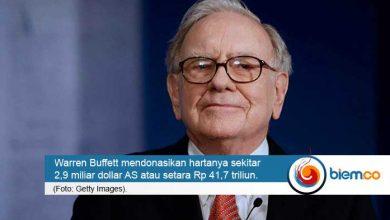 Photo of Donasikan Kekayaan 41,7 Triliun, Posisi Warren Buffett Turun dalam Daftar Orang Terkaya