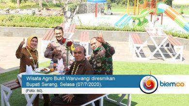 Photo of Wisata Agro Waruwangi Diresmikan, Mimpi Bupati Serang Terwujudkan