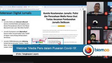 Photo of UKM Jurnalistik Untirta Diskusikan Perjuangan Pers dalam Pusaran Covid-19
