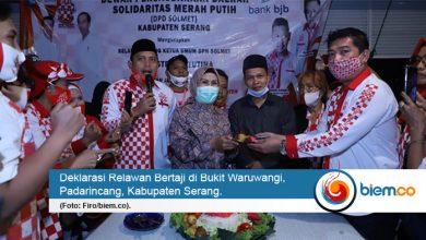 Photo of Dukung Tatu-Panji, Solmet Kabupaten Serang Deklarasikan Bertaji