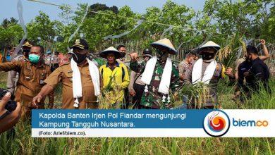 Photo of Kapolda Banten: Kehadiran Kampung Tangguh Nusantara Bisa Menanggulangi Covid-19