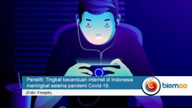 Photo of Peneliti: Kecanduan Internet di Indonesia Meningkat Selama Pandemi Covid-19
