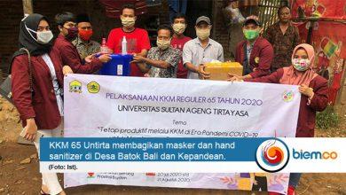 Photo of KKM Untirta Bagikan Ratusan Masker dan Hand Sanitizer, Cegah Penyebaran Covid-19