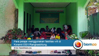 Photo of Wah! Koramil 0301/Rangkasbitung Sediakan Wifi Gratis untuk Pelajar