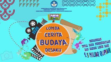 Photo of Kemdikbud Gelar Lomba Cerita Budaya Desaku, Total Hadiah Rp1,5 Miliar