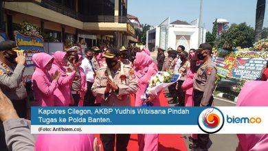 Photo of Kapolres Cilegon Pindah Tugas ke Polda Banten