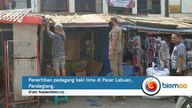 Photo of Wah, Disperindag Mulai Tertibkan PKL Pasar Labuan