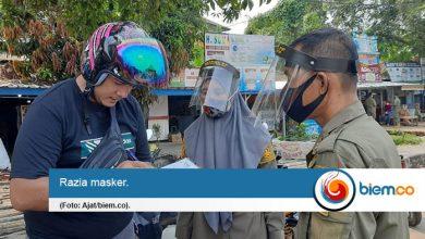 Photo of Belasan Warga Serang Terjaring Razia Karena Tak Mengenakan Masker