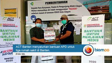 Photo of ACT Banten Beri Bantuan APD untuk Tenaga Medis