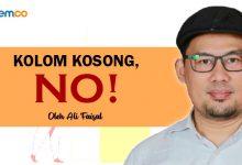 Photo of Ali Faisal: Kolom Kosong, No!