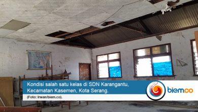 Photo of Bangunan Kelas Puluhan Tahun yang Rusak di SDN Karangantu Akan Dibongkar