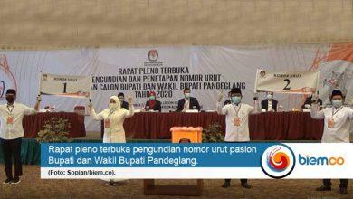 Photo of Ini Hasil Pengundian Nomor Urut Paslon Pilkada Kabupaten Pandeglang