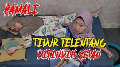 Photo of Video: Pamali Tidur Telentang, Bisa Ditindih Setan