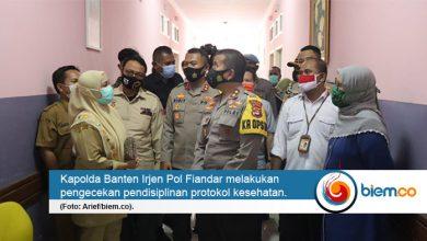 Photo of Pastikan Protokol Kesehatan di Ruang Publik Berjalan, Kapolda Banten Gelar Pengecekan